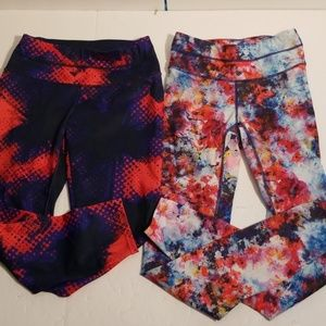2 pairs womens XS Athleta workout pants